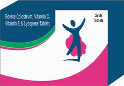 Bovine Colostrum, Vitamin E & Lycopene Tablets