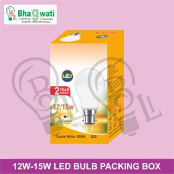 12W-15W LED Bulb Packaging Box