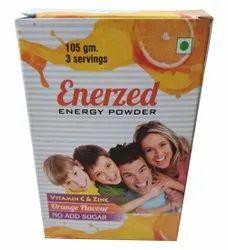 Orange Energy Booster Powder, 105 G, Non Prescription