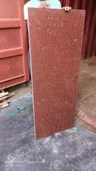 Polished Imperial Red Granite Slabs, Thickness: 20-25 mm