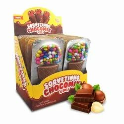 Round Chocolate Softy Cone, Packaging Type: Box, Quantity Per Pack: 24 Piece