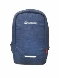 Polyester Blue R59 Harissons 31L Anti-Theft Laptop Backpack (15.6