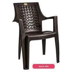 Designer Black Plastic Chair
