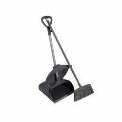 Lobby Dust Pan With Broom
