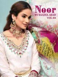 Shree Fab Noor By Saadia Asad Vol 3 Cotton Pakistani Salwar Suit Catalog