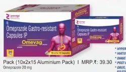Omeprazole Gastro-resistant Capsules IP
