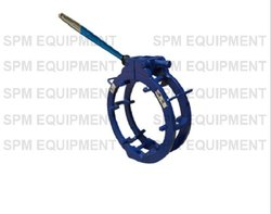 External Manual Ratchet Cage Type Pipe Clamp