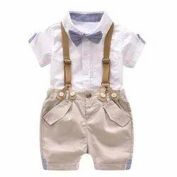 Multicolor Girl & Boy Kids Cotton Suit
