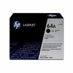 HP 64A Black Original LaserJet Toner Cartridge, CC364A