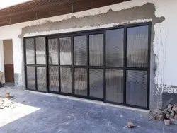 10mm Aluminium Glass Door
