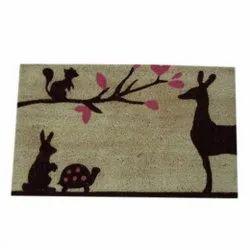 Printed Coir Outdoor Doormat