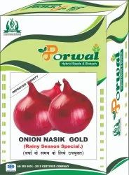 Natural Red ONION SEEDS NASIK GOLD N53, Packaging Type: Box, Packaging Size: 500g