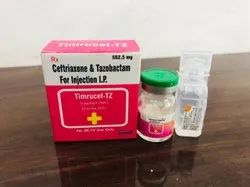 Ceftriaxone & Tazobactam For Injection I.P