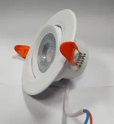 SMD Downlight 7W COB / Concealed Light Tiltable PC Housing, For Office