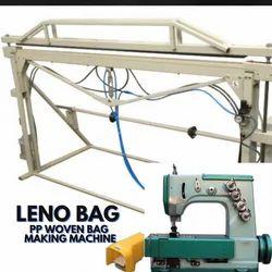 Semi Automatic Leno Bag Making Machine