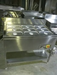 Stainless Steel Hot Bain Marie 9 Container