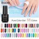 Nail Art Pure color Gel colors Rosalind