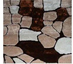 Brown White FAF00288 Shag Carpet