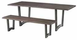 Powder Coated Cast Iron Restaurant Dining Table