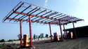 Petrol Pump Canopy Fabrication Services