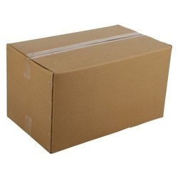 Brown Double Wall 5 Ply Rectangular Corrugated Box