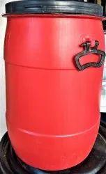 ADR Open Top Plastic Water Storage Barrel, For Industrial, Capacity: 50 Litre