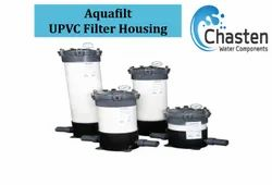 Grey and White UPVC Filter Housings