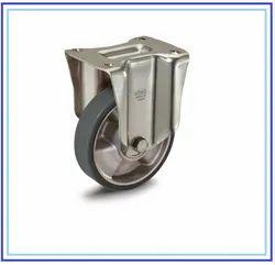 Castors With Bracket For Medium-Heavy Loads ESD Cast Polyurethane Coating
