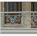 Stainless Steel Balcony Railing, Material Grade: Ss 304