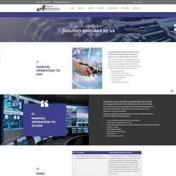 Asp.Net,C Static Website For Automation Industry, With 24*7 Support