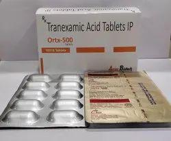 Tranexamic Acid 500 Mg Tablet