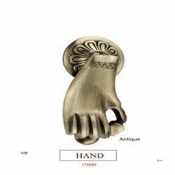 7 inch Antique Hand  Brass Door Knocker