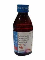 Piyu Cof D Dextromethorphan Phenylephrine Cough Syrup, 100 ml
