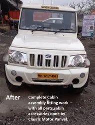 Mahindra Bolero Pickup Cabin Fitting And Replacement Work