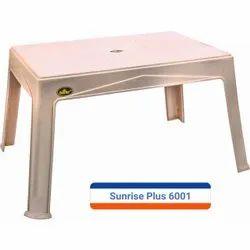 Marble Beige Plastic Table