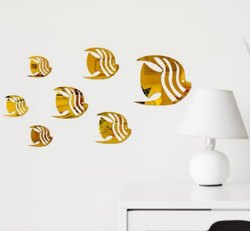 3d Acrylic Mirror Wall Sticker