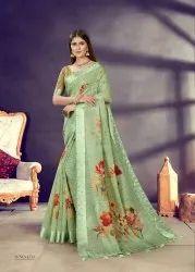Digital Printed Saree
