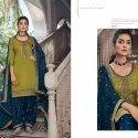 Kessi Patiala House Embroidery Work Salwar Suit
