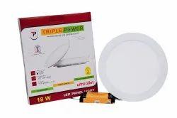 18W LED Triple Power Panel Light
