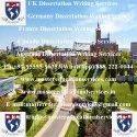 UK MSc Dissertation Writing Services