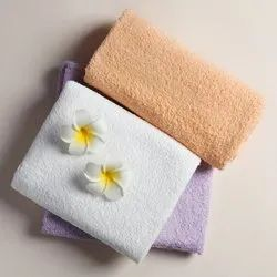 Sandex Corp Plain Face And Hand Towels Customized, For Bathroom,living Room, 450-550 Gsm