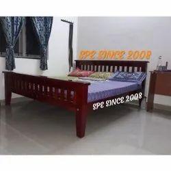 Hostel Teak Wooden Cot Bed