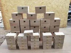 Brown Wooden Storage Box, Wood organizer, For General