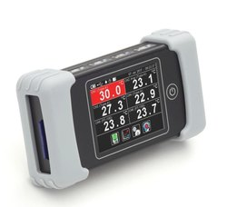 Handheld Temperature Data Logger with Touch Screen