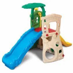 Grow N Up Double Slide Climb 'N Hide Jungle Gym