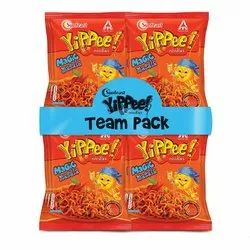 ITC Sun feast yippee Noodles, Packaging Size: Pack