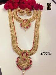 Long Imitation Necklace Set