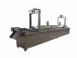 Continuous Potato Chips Fryer Machine