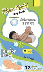 Little Cutiy Cotton Baby Diaper Pant, Age Group: 1-2 Years, Packaging Size: 1 Piece
