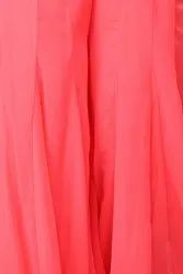 Plain Soft Faux Georgette Fabric, For Clothing